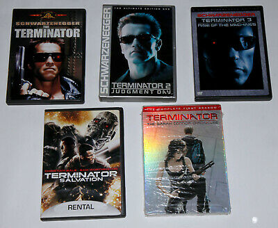 5x TERMINATOR 1 2 3  SALVATION SARAH CONNER SEASON 1 DVD LOT
