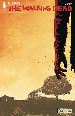 The Walking Dead #193 - 1St Print - Image - Bagged And Boarded. Free Uk P+P