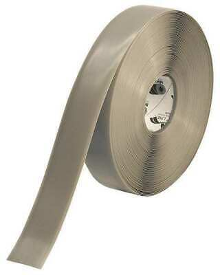 MIGHTY LINE 2RGRY Industrial Floor Tape,Roll,Gray,Vinyl