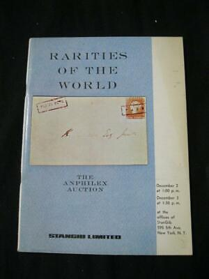 Stanley Gibbons 'Stangib' Auction Catalogue 1971 Anphilex Rarities Of The World