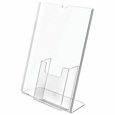 DEFLECTO 590501GR Sign and Literature Holder,8-1/2x11
