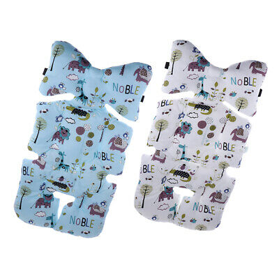 MagiDeal Baby Stroller Pram Pushchair Cotton Seat Liner Pad Cushion Mat