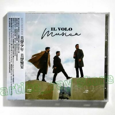 Il Volo Musica Taiwan CD OBI 2019 NEW