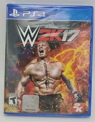 WWE 2K17 - PS4  BRAND NEW FACTORY SEALED Wrestling Rated T for playstation 4