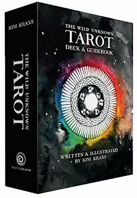 The Wild Unknown Tarot Deck and Guidebook...by Kim Krans HARDCOVER 2016