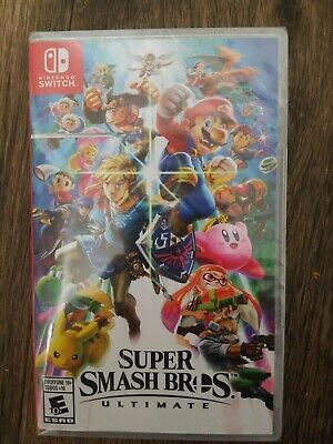 Super Smash Bros. Ultimate for Switch. Brand new and unopened.