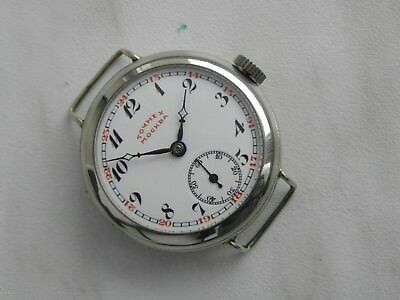 Very RARE Collectible Tochmech Moscow Soviet Russian WATCH 1920`s Enamel Dial