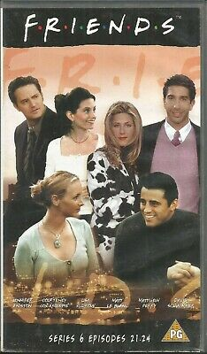 FRIENDS ~ SERIES 6 EPISODES 21 - 24 ~ PAL REGION VHS 99p