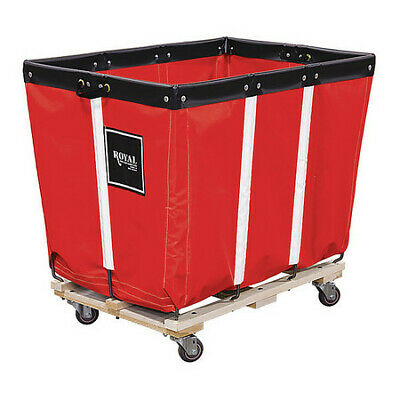 ROYAL BASKET TRUCK G16-RRW-PMA-3UNN Basket Truck,16 Bu. Cap.,Red,40 In. L