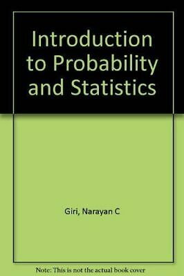 Introduction to probability and statistics (Statistics: textbooks and monographs