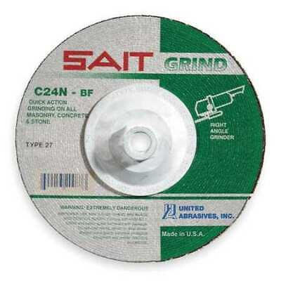Depressed Ctr Whl,T27,4.5x1//4x5//8-11,AO UNITED ABRASIVES-SAIT 20163