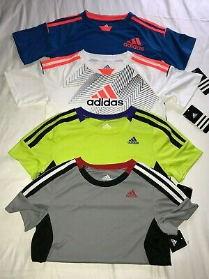 Adidas BOYS Children's Shirts DRY-FIT, CLIMACOOL