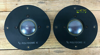 *PAIR* Infinity Polydome K Midrange Speakers RS-6000