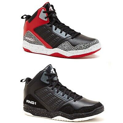 AND1 Men Capital 3.0 Old School Style Athletic Casual Basketball Shoes Size 7-13