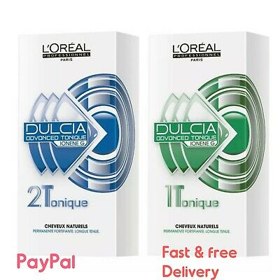 Loreal Dulcia Advanced Perm Lotion 1 & 2 (FREE 48 Hr TRACKED DELIVERY)