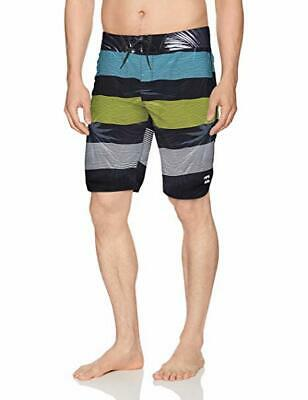 Billabong Mens 73 OG Stripe Boardshort Aqua 32