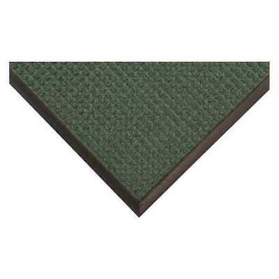 CONDOR 36VK15 Carpeted Entrance Mat,Green,3ft. x 5ft.