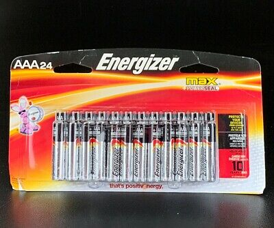 Energizer AAA Batteries, Max Power Seal, Alkaline (24 Count)