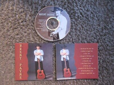"""Brent Payne """"Brent Payne"""" 1999 Self Released Country Nm/Nm Out Of Print Cd"""