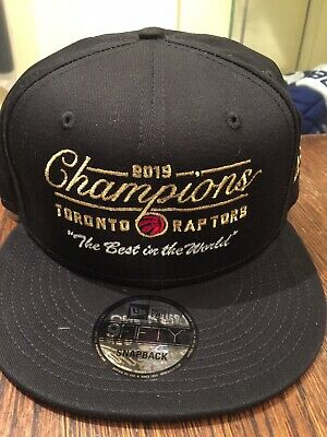 "Toronto Raptors x OVO ""The Best in the World"" Championship Snapback Hat"