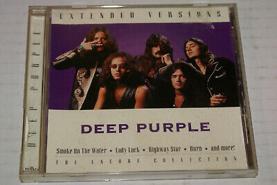 Deep Purple - Extended Versions - Encore Collection Vg+ Ritchie Blackmore Oop