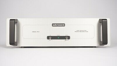 Audio Research PH3 Vacuum Tube Phono Preamplifier - 6922 6DJ8 - MM MC - Orig Box