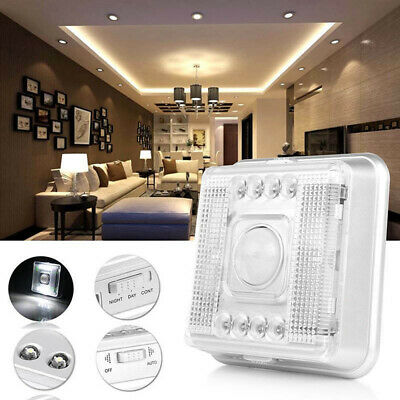 8 LEDs PIR Wireless Motion Detector Infrared Sensor Wall Night Light Lamp