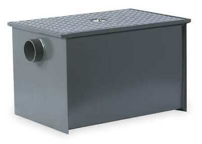 WATTS WD-15 Grease Trap,Pipe Dia 2 In