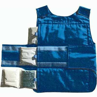 SEQUEL 3XLN7 Cooling Vest, Universal,Poly/Cotton,Blue