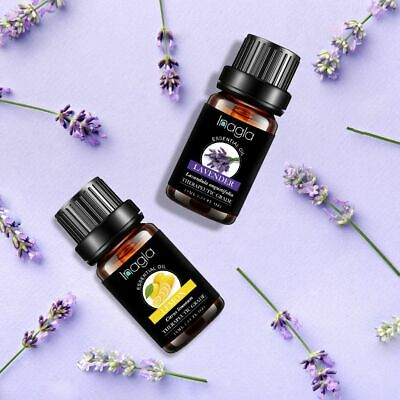 Essential Oils Set of 5/10/15/20 -100% Pure Natural Plant Aromatherapy Kit 10ml