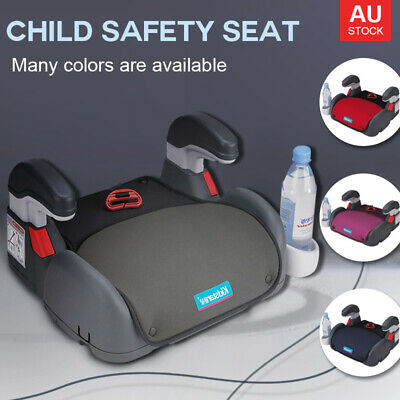 Car Booster Seat Safety Sturdy Chair Cushion Pad For Toddler Children Child Kids