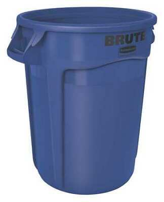 RUBBERMAID FG262000BLUE Brute 20 gal. Blue Polyethylene Round Utility Container