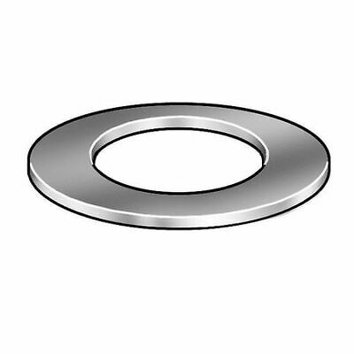 ZORO SELECT 4NFF4 Washer,PTFE,3/8In,0.062 OD,Wht,Pk5