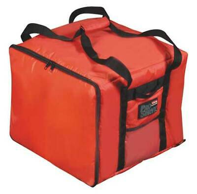RUBBERMAID FG9F3800RED Insulated Bag, 17 x 17 x 13