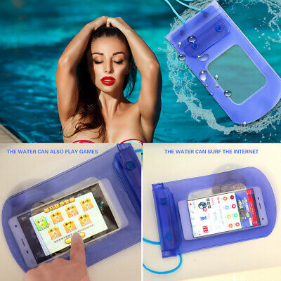 Universal Waterproof Underwater Phone Case Armband Dry Bag Pouch All Smartphones
