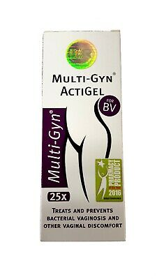 Multi-Gyn Actigel Treats and Prevents Bacterial Vaginos 50ml (Mutipack 1,2,3,6)