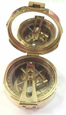 New Year Maritime Compasses Brunton Survey Alidede Instrument Army Compass N