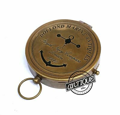 Valentine Camping magnetic compass tool engraved hiking camping Kompass