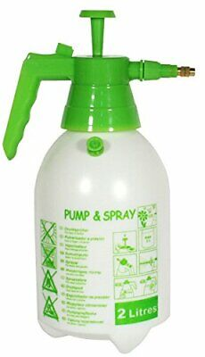 Cleaning Manual Pressure Pump Sprayer 2 Liters with Brass Adjustable Nozzle