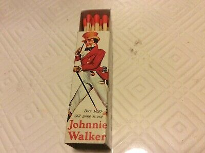 Collectable Johnnie Red Match Box