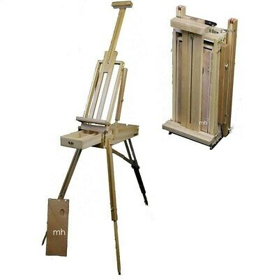 SALE Loxley Wiltshire Superior Narrow Artists Sketching Box Floor Easel