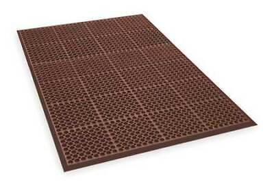 "APEX T11S3958RD Interlock Drainage Mat,Red,3ft3""x4ft10"""