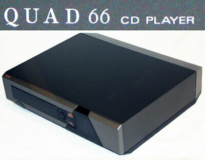 Beautiful Quad 66 CD player and remote.