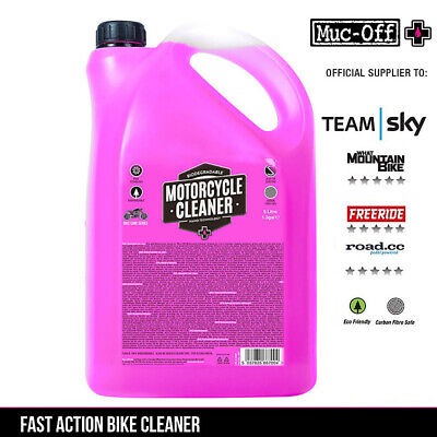 NEW STYLE | Muc-Off Nano Tech Bike Motorbike Motorcycle Cleaner Road Mountain 5L