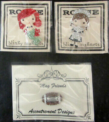 3x Embroidery Tools  Blingy Magnets (Mermaid/Maid)/Mag Friends (Football)-BM363