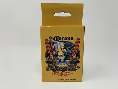 Corona Playing Cards 2004 Miles Away From Ordinary New Sealed