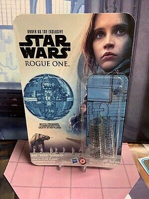 Star Wars Rogue One Death Star Plans Order 66 Exclusive Cardback