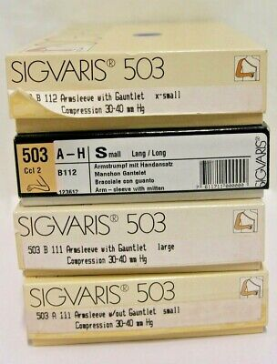 Sigvaris 503 Armsleeve With or Without Gauntlet Compression 30-40mmHg