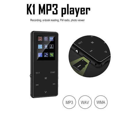 Lettore Mp3 Mp4 Bluetooth da 16GB Video Audio Foto Slot MicroSD Con Altoparlante