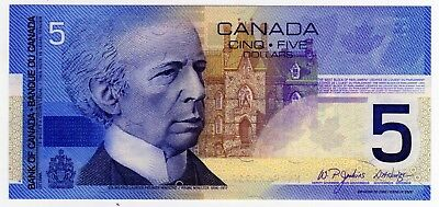 2004 Canada 5 Dollar Insert Replacement Note - HNR9671957, BC-62bA